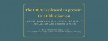 Dr. Hildur Kalman